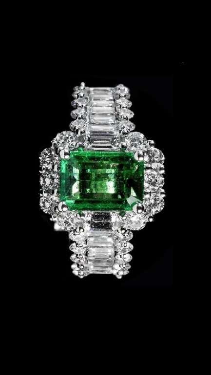 GEMSTONE FANCY DIAMOND RINGS